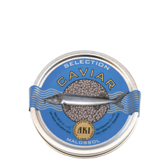 AKI »Selection Malossol Caviar 30 gr., pasteurisiert«
